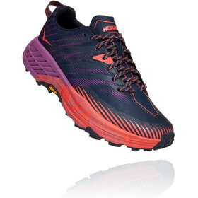 Hoka One One Speedgoat 4 Scarpe Donna, outer space/hot coral